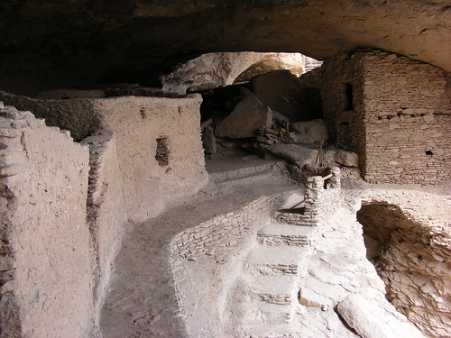 Picture from the Gila Cliff Dwellings