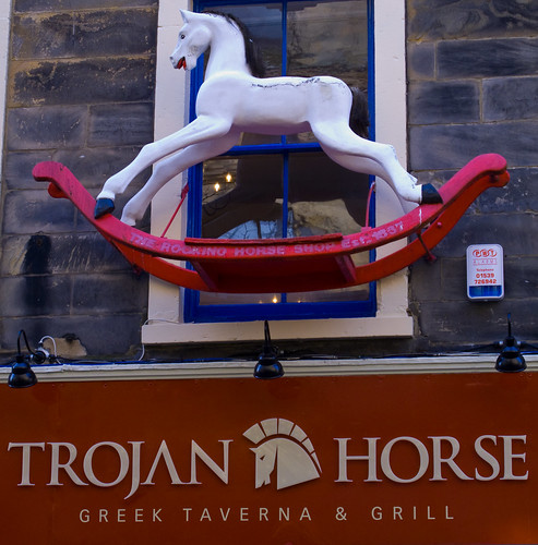 Trojan rocking horse