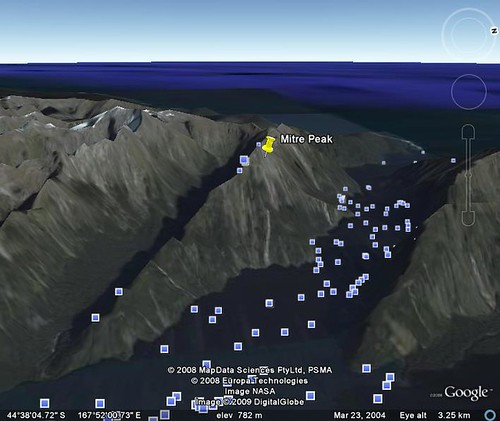 google earth milford sound 10