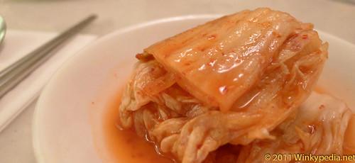 Kimchi at Arang