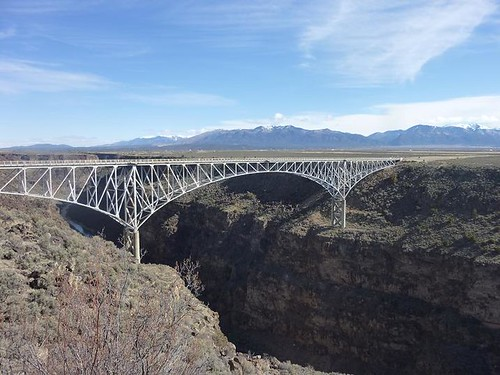NM, Rio Grande Gorge Bridge 1