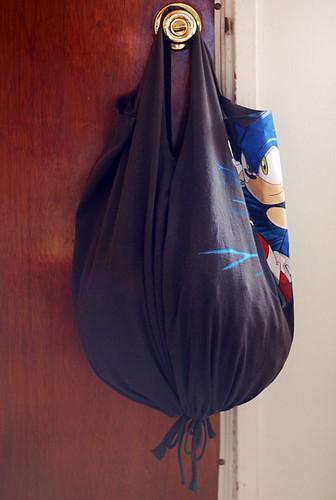 Recycled Tshirt Bag image