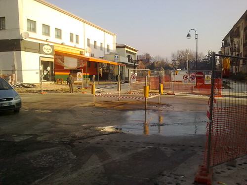 Rotatoria Viale Tevere - Via Po (Frosinone) 2/4