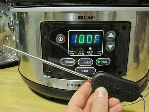 Slow Cooker Temperature Probe
