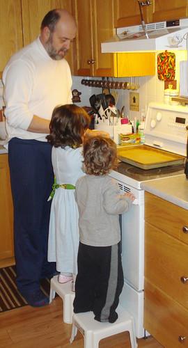 Making Pancakes on Shrove Tuesday