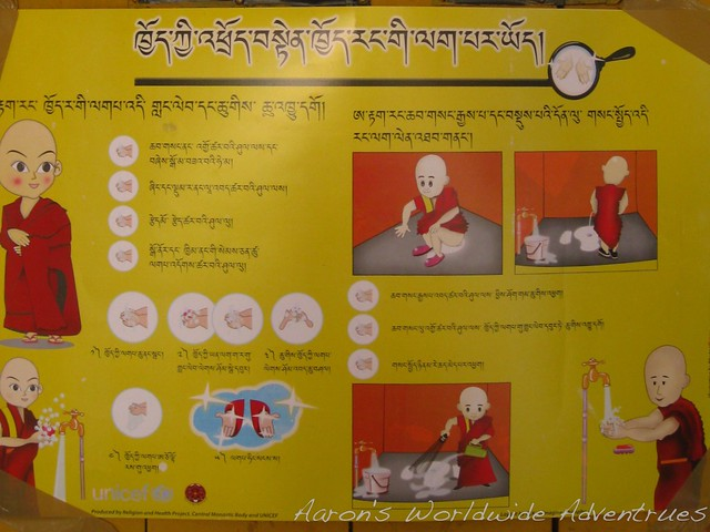 Squat Toilet Instructions