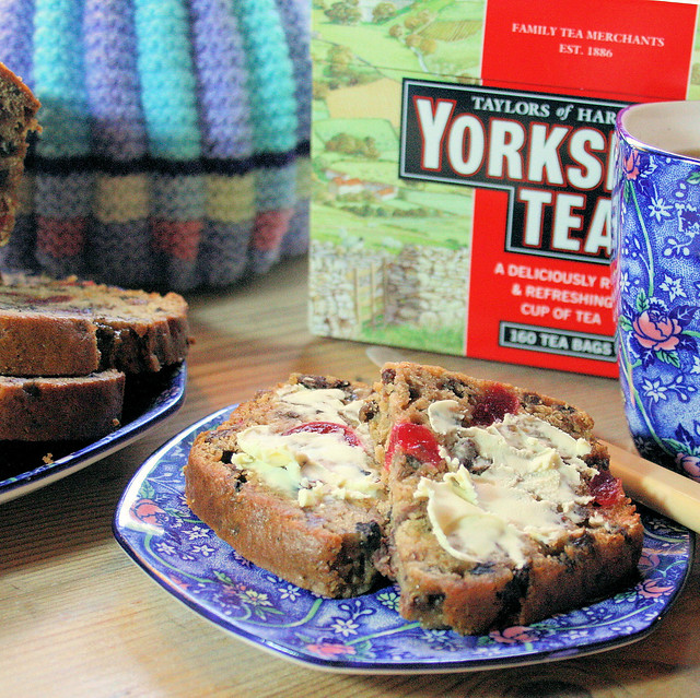 Yorkshire Tea, Tea Cosies and Yorkshire Tea Fruit Loaf for