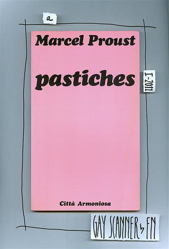 Marcel Proust, Pastiches. Città armoniosa 1982. Ex libris 8. Copertina