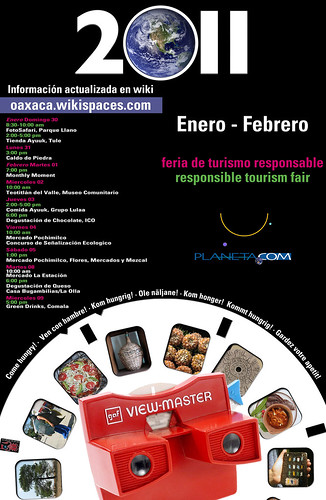Come Hungry to the 2011 Responsible Tourism Fair (Oaxaca)