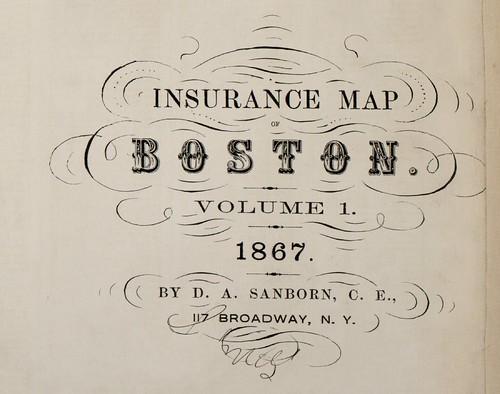 Boston, Massachusetts 1867