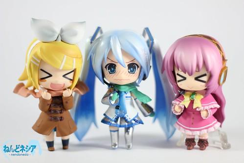 Vocaloid Winter Fashion