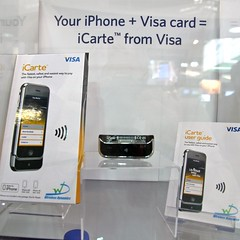 Visa & iphone NFC payment @MWC
