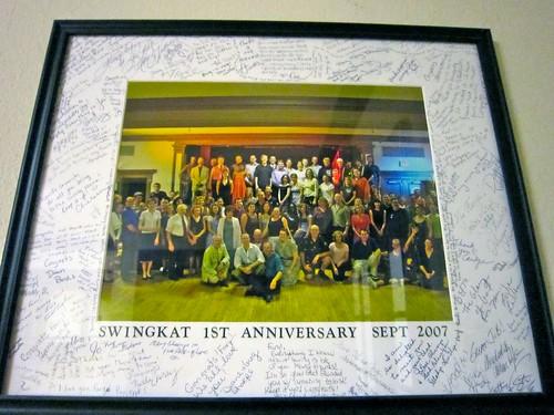 Swing Kat 1st Anniversary