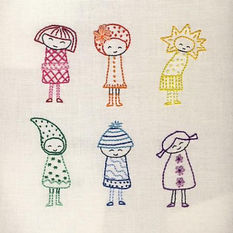 Finished Rainbow Girls