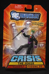 Bat-inventory- DC Universe Crisis Joker Paint Variant Figure