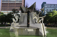 Fountain in Victoria Square, Adelaide City