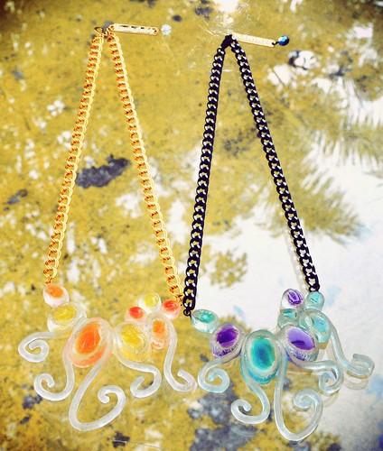 Amado Gudek - Occult Octopus necklace