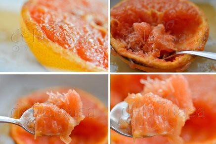 grapefruit cu ghimbir
