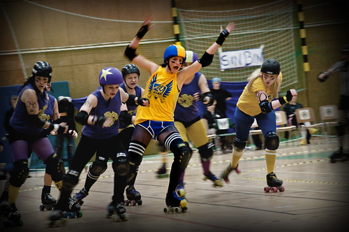 Roller Derby: CCR vs STRD