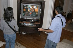 Amit and Hemi playing the best game ever... Guitar Hero
