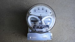 General Electric Utility Meter