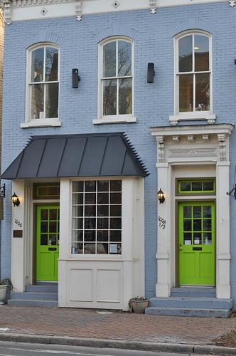 Alex green doors
