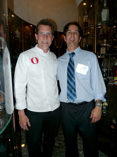 Chef Rick Bayless w my friend Brent