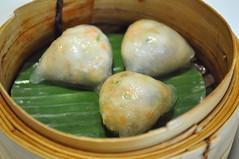 Steamed crab meat dumpling