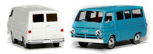 Brekina Dodge A-100 van & bus
