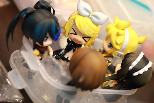 Nendoroid chatters!?