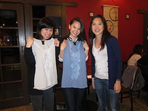 Christina, Aubrey, Grace