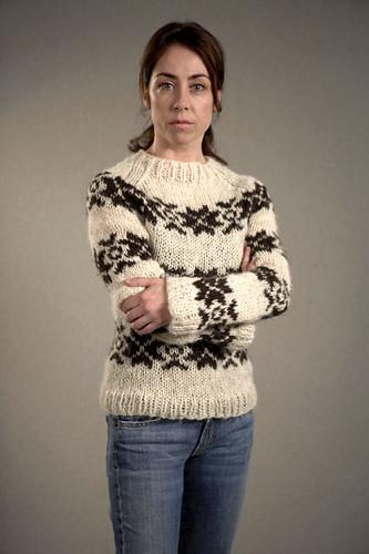 Sarah Lund's jumper - white