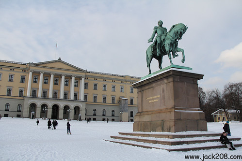 110223 OSL - Royal Palace (King Carl Johan)