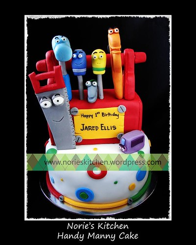 Norie's Kitchen - Handy Manny Tools Cake