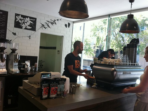 where the magic happens - mecca espresso, ultimo