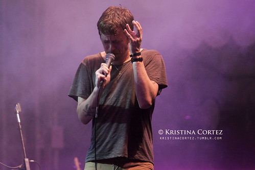 Chris Keating of Yeasayer