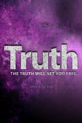 John 8:32 by Bible Lock Screens