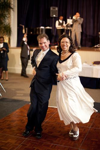 Swing dance wedding