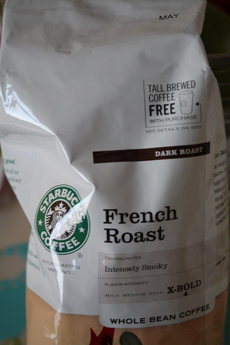 French Roast Starbucks coffee