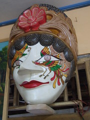 suppressive expression - Javanese Traditional Mask