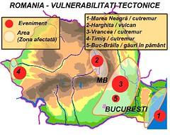 Harta riscurilor tectonice