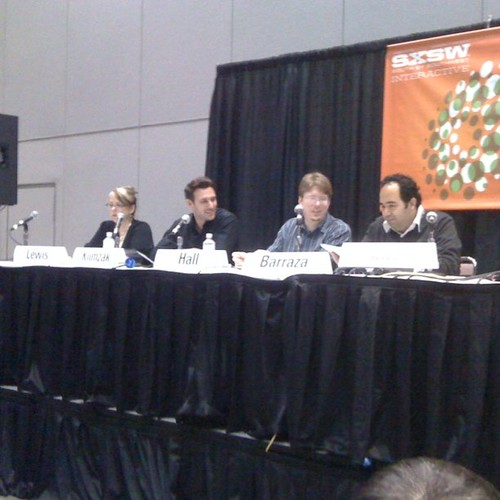 HTML5 panel packs them in at #sxswi