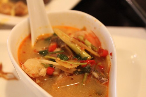 Tom Yum at 8 Spices