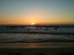 Scarborough Beach Sunset