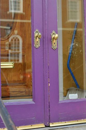 Alex purple doors