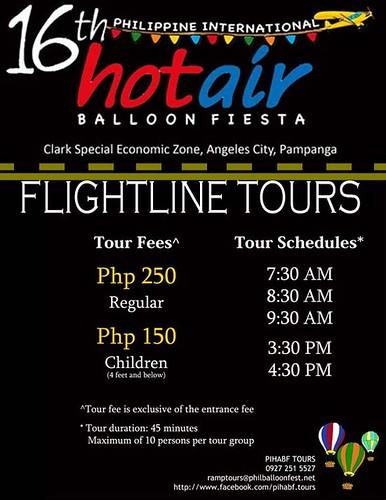 Flight Tour, Schedule, & Rate - Hot Air Balloon Ride