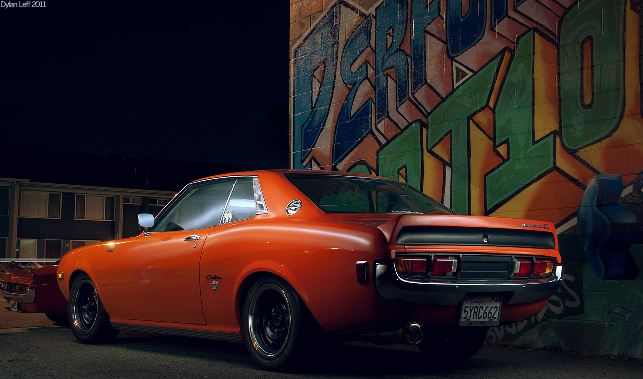 Widebody Cars Wallpaper Classic Toyota Photoshoot 1st Gen Celicas Amp Hilux