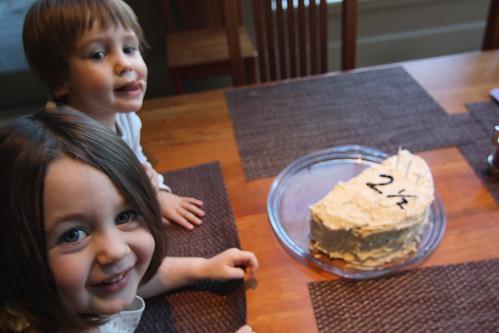 Celebrating Hudson's half-birthday