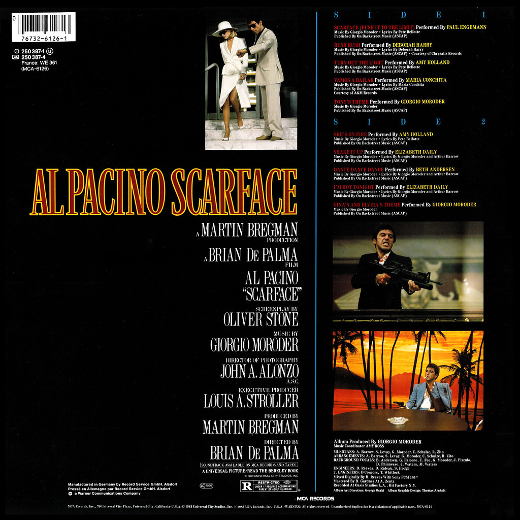 Giorgio Moroder - Scarface