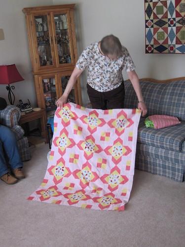 Karen's baby quilt